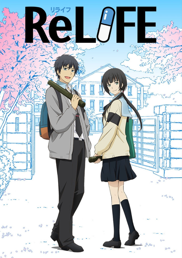 Falling In Reverse Wallpaper 2016 Crunchyroll Quot Relife Finale Chapter Quot Anime Dvd Blu Ray