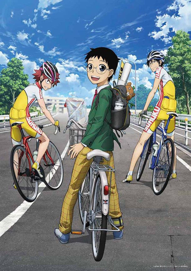 Crunchyroll Additional Quot Yowamushi Pedal Quot Anime Cast Listed