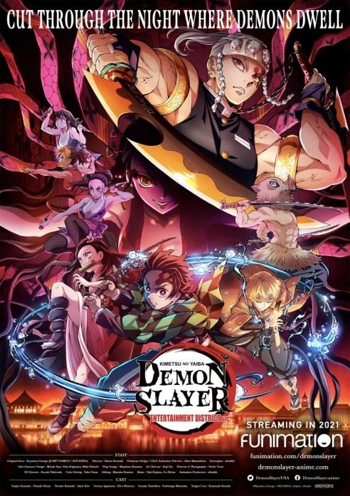 Funimation Will Stream Demon Slayer: Kimetsu no Yaiba Entertainment District Arc This Year