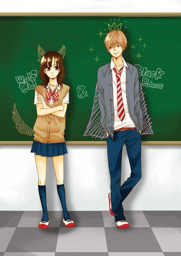 Cute Anime Chibi Wallpaper Hd Crunchyroll Poster Visual For Quot Wolf Girl Amp Black Prince