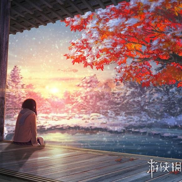 Fall Wallpaper Japan Wallpaper Engine 在雪中动漫1080p壁纸 Wallpaper Engine其它 游侠网