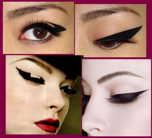 Patch eyeliner il trucco adesivo