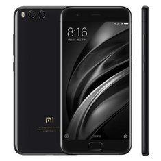 Xiaomi Mi6 Mi 6 Ceramic 5.15 pouces 6GB RAM 128 Go ROM Snapdragon 835 Octa Core 4G Smartphone