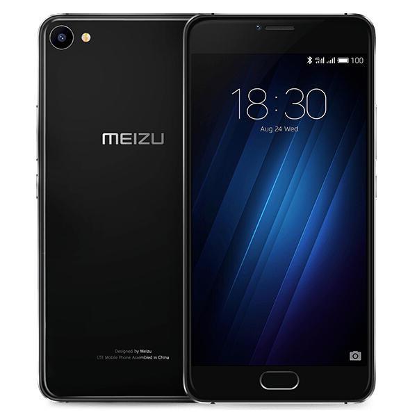banggood MEIZU U20 MTK6755 Helio P10 1.8GHz 8コア BLACK(ブラック)