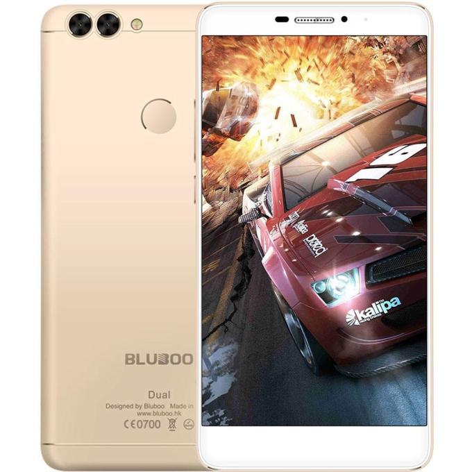banggood BLUBOO Dual MTK6737T 1.5GHz 4コア GOLDEN(ゴールデン)