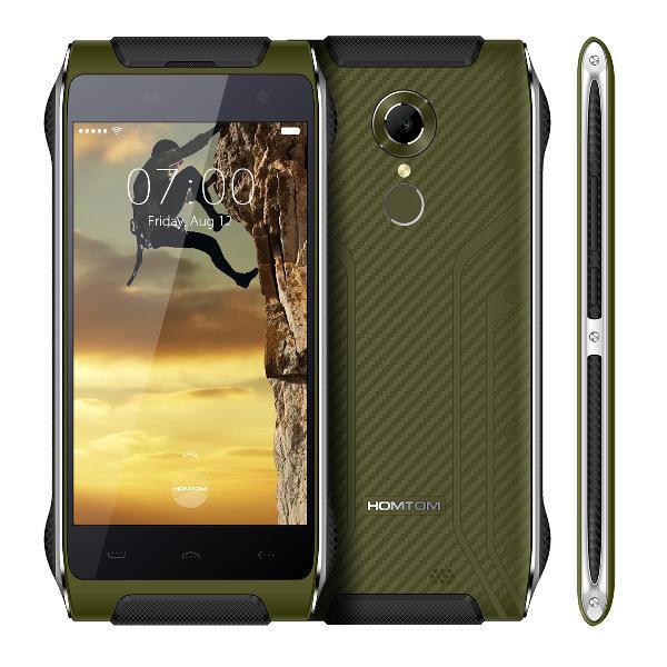 banggood Homtom HT20 MTK6737 1.3GHz 4コア GREEN(グリーン)