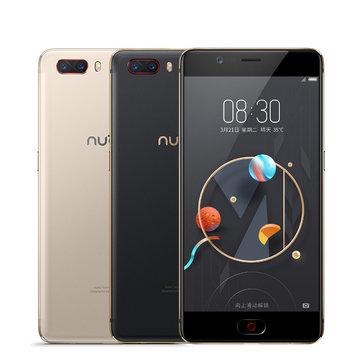 Nubia M2 5.5 inch Dual Rear Camera 4GB RAM 64GB ROM Qualcomm Snapdragon 625 Octa Core 4G Smartphone