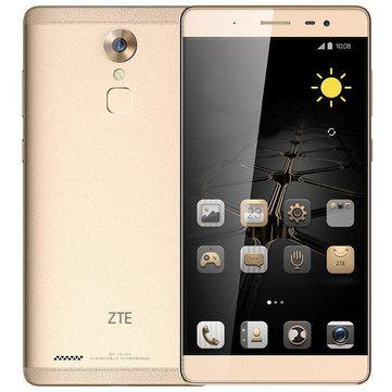 ZTE Axon Max C2016 6.0 Inch Fingerprint 3GB RAM 64GB ROM Snapdragon 617 Quad Core 4G Smartphone