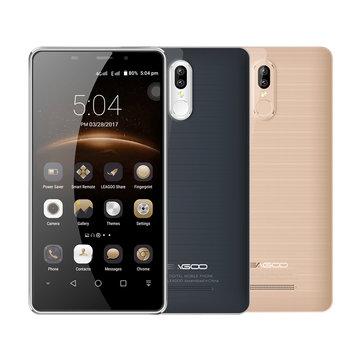 Leagoo M8 Pro 5.7'' Dual Rear Cameras Fingerprint 2GB RAM 16GB ROM MT6737 Quad-Core 4G Smartphone