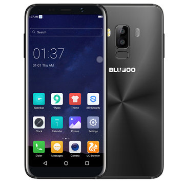 Bluboo S8 5.7'' Dual Rear Cameras Android 7.0 3GB RAM 32GB ROM MTK6750T Octa-Core 4G Smartphone