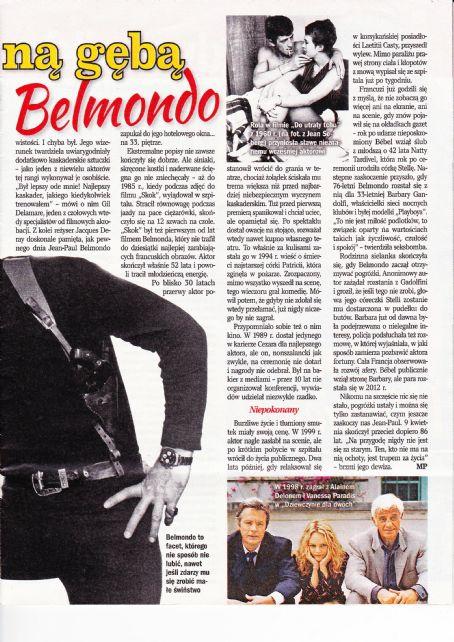 Jean-Paul Belmondo - Retro Wspomnienia Magazine Pictorial [Poland] (July 2019)