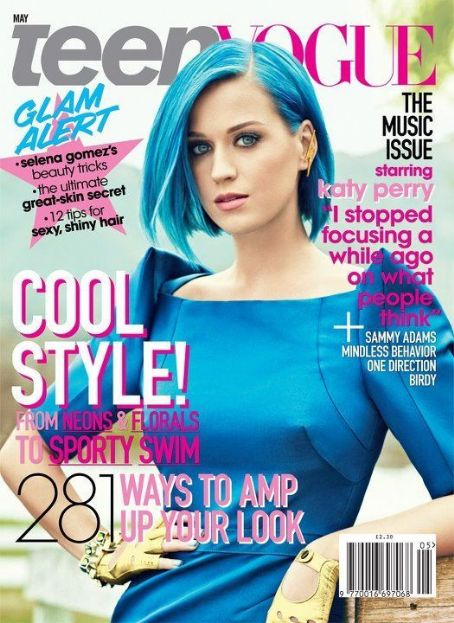 Katy Perry - Teen Vogue Magazine Cover [United States] (May 2012)