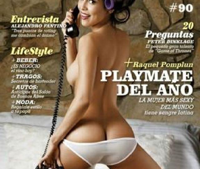 Raquel Pomplun Playboy Magazine Cover Argentina June 2013