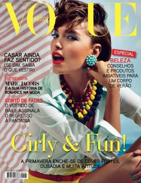 Arizona Muse - Vogue Magazine Cover [Portugal] (May 2012)