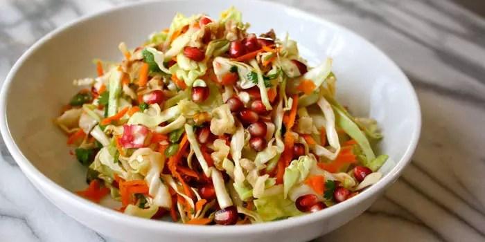 Beachbody Blog Pomegranate Salad Walnuts