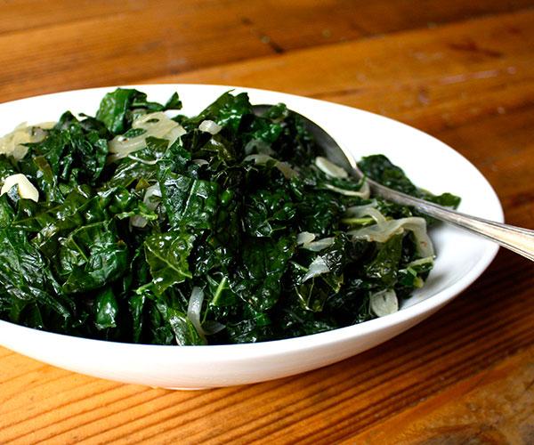Braised Kale