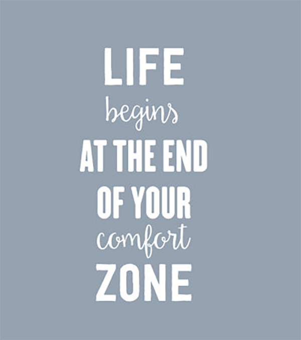 20 Motivational Quotes - Comfort Zone