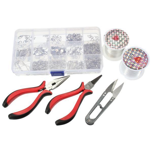1 Set Kit Per La Creazione Di Gioielli Accessori Pinze Adatta Accessori Per Gioielli Fai Da Te