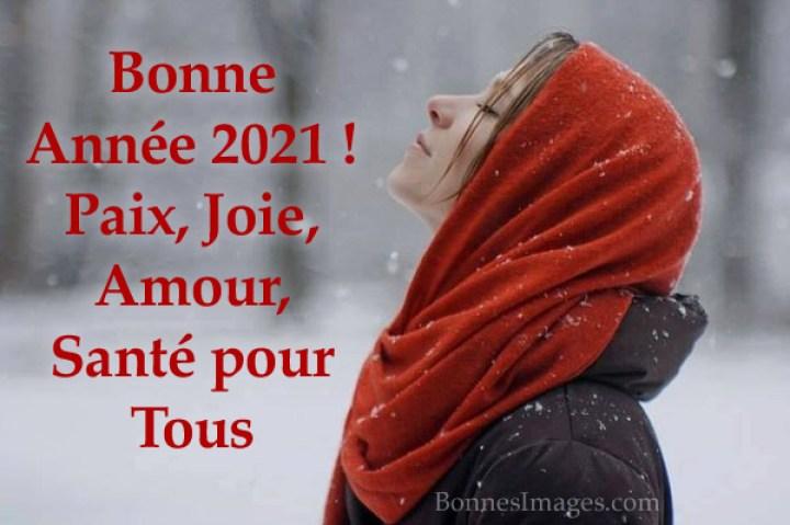 Bonne Année 2021 ! Paix, Joie, Amour...