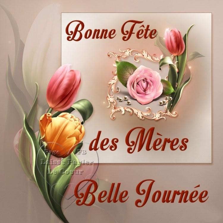 Bonne Fête des Mères, Belle Journèe