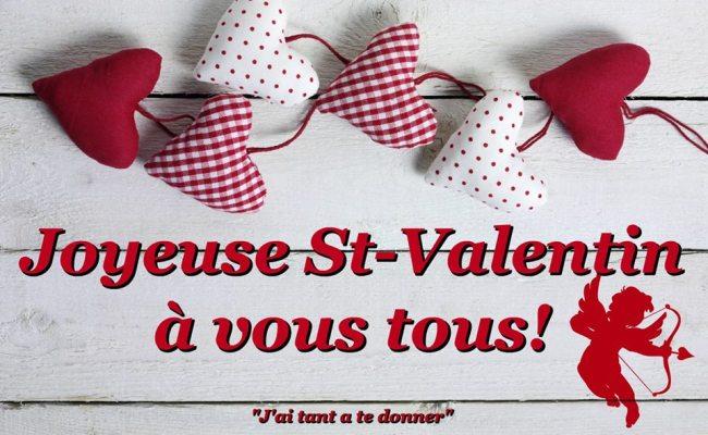 Joyeuse St Valentin à Vous Tous Saint Valentin Image 6645