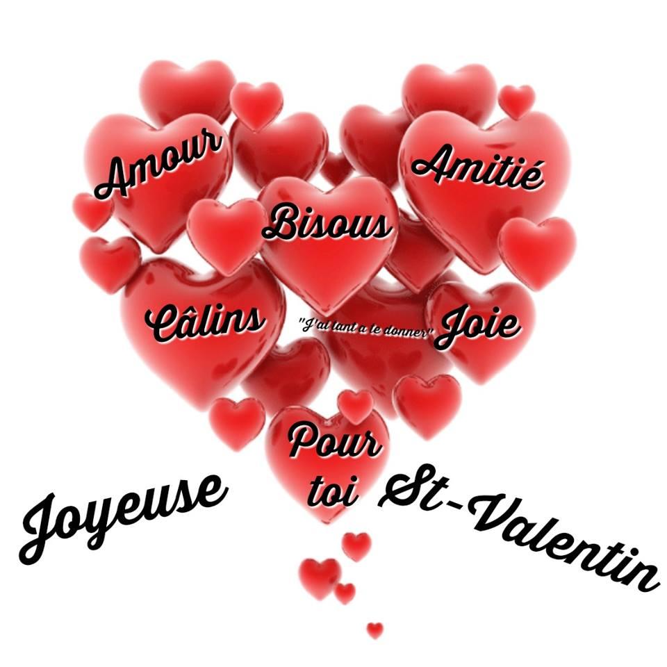 joyeuse st valentin amour