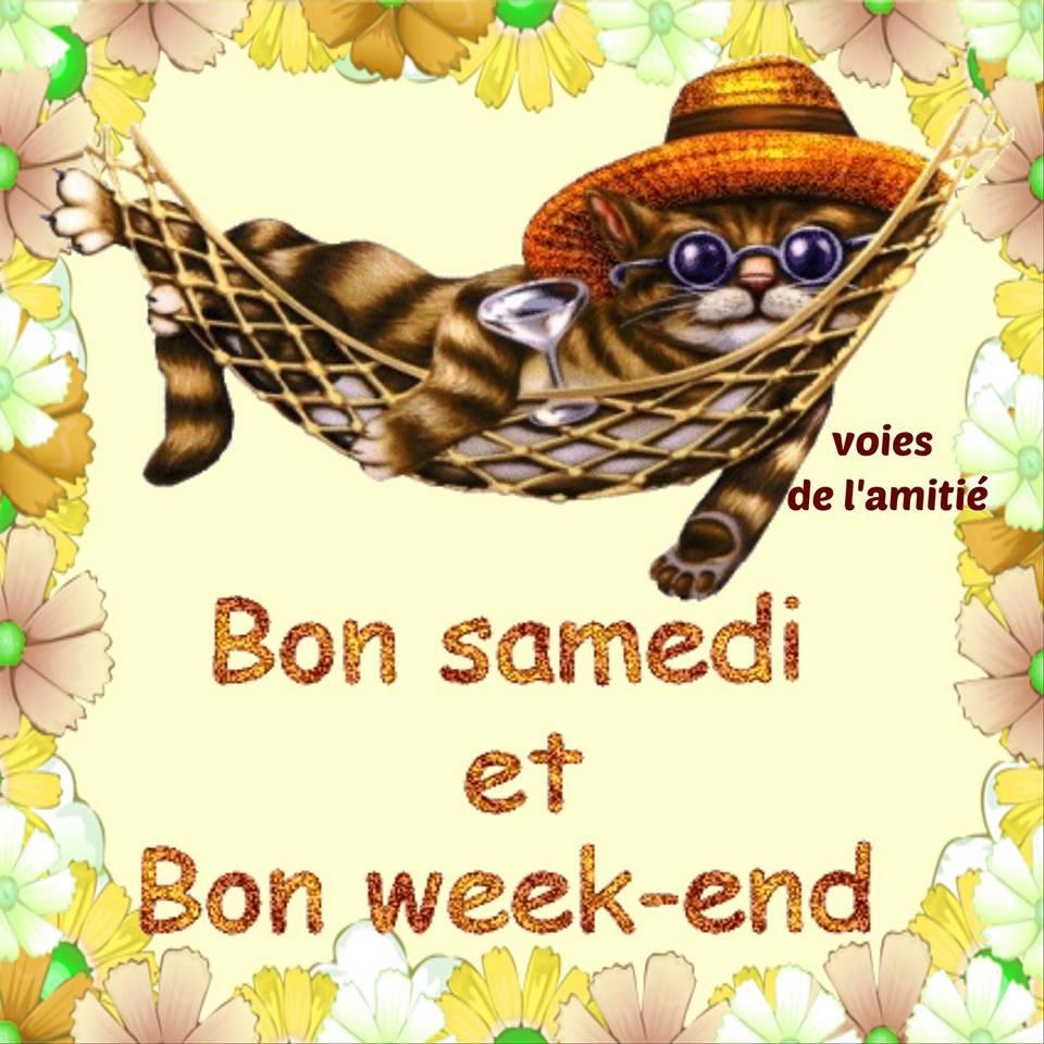 Bon samedi et Bon weekend image 7088  BonnesImages
