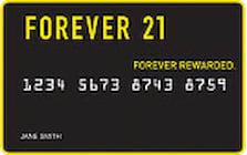 forever 21 credit card
