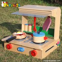 Tabletop children toy wooden kitchen play set W10C177 ...