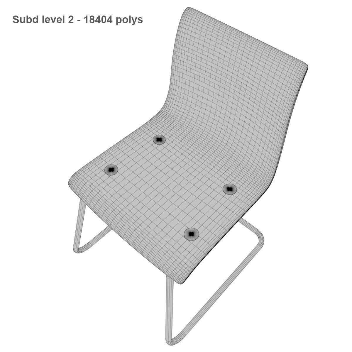 folding chair ikea avon christmas covers 3d tobias cgtrader model max obj mtl fbx 9