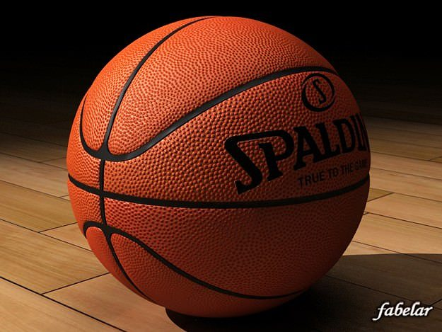 Basketball Spalding 3D Model CGTrader