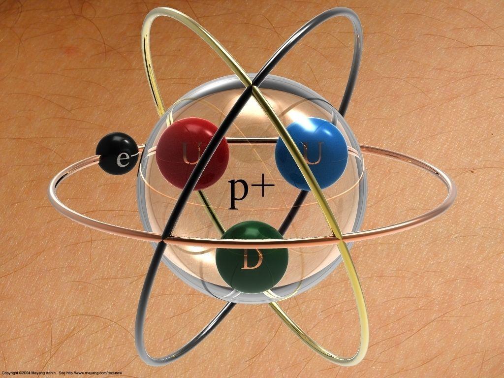 Hydrogen Atom Tattoo Concept Free 3d Model Sldprt Sldasm