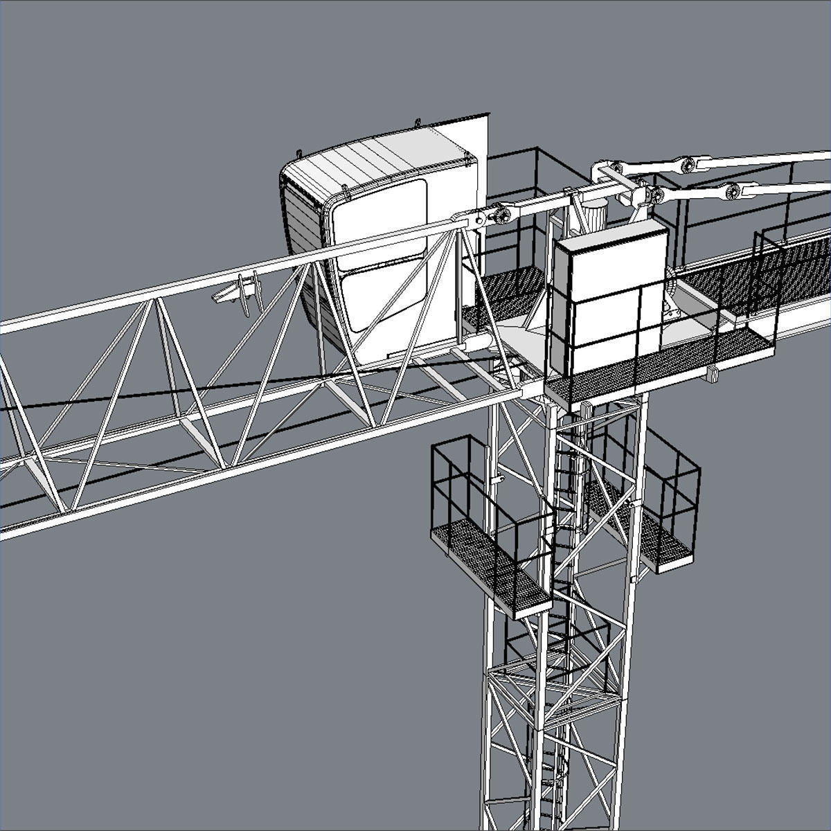 Different Parts Of A Crane