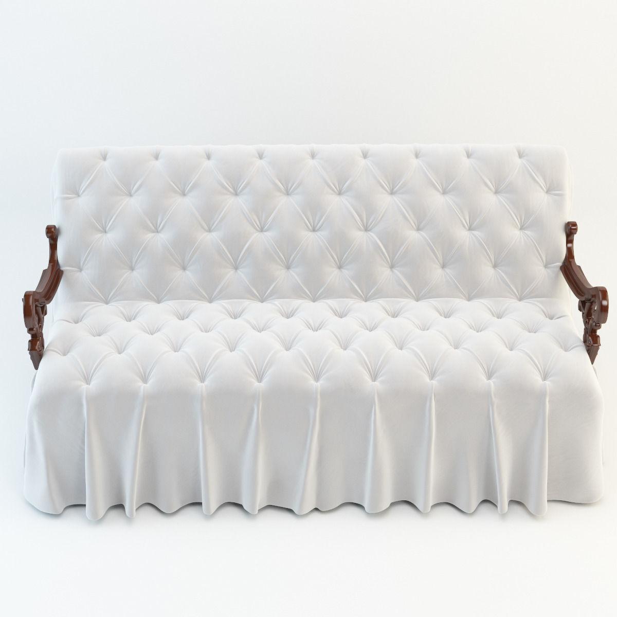 wedding sofa metro 3d model cgtrader