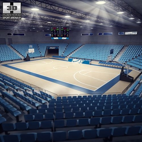 3D model Basketball Arena  CGTrader
