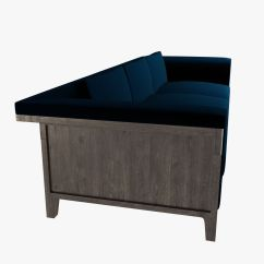 Holly Hunt Sofa Cost The And Chair Company Limited Hadrien 3d Model Max Obj 3ds Fbx