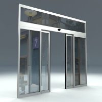 AUTOMATIC SLIDING DOOR 3D model | CGTrader
