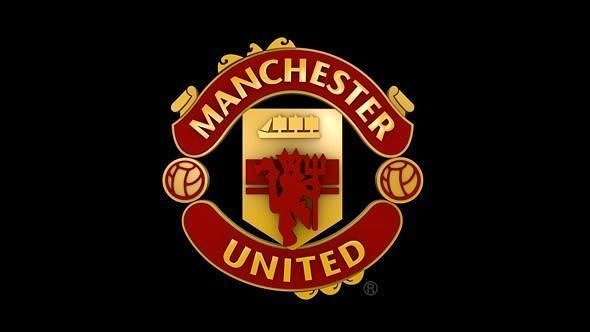 Manchester United Animated Wallpapers 3d Model Man United Logo Cgtrader