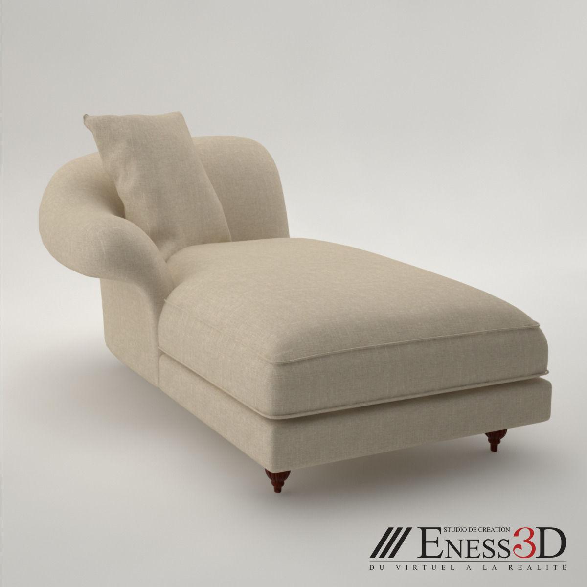 baker furniture max sofa recliner set images pro meridienne classic 3d model obj fbx