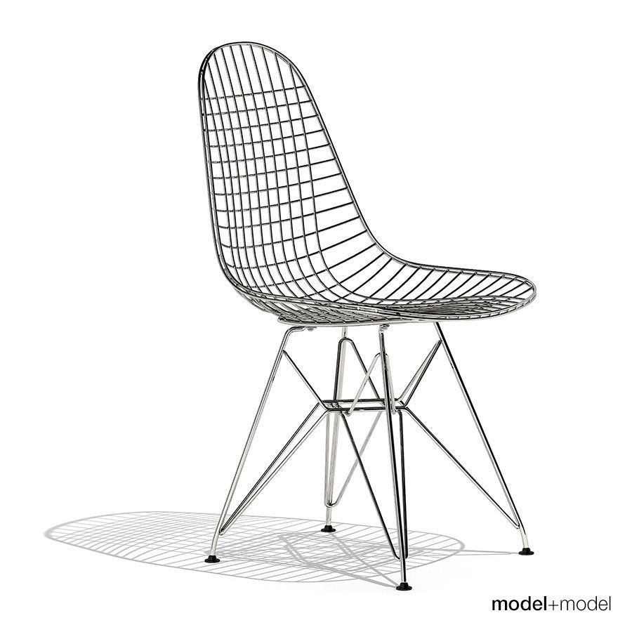Eames Wire Chair Eames Wire Chair Dkr 3d Model