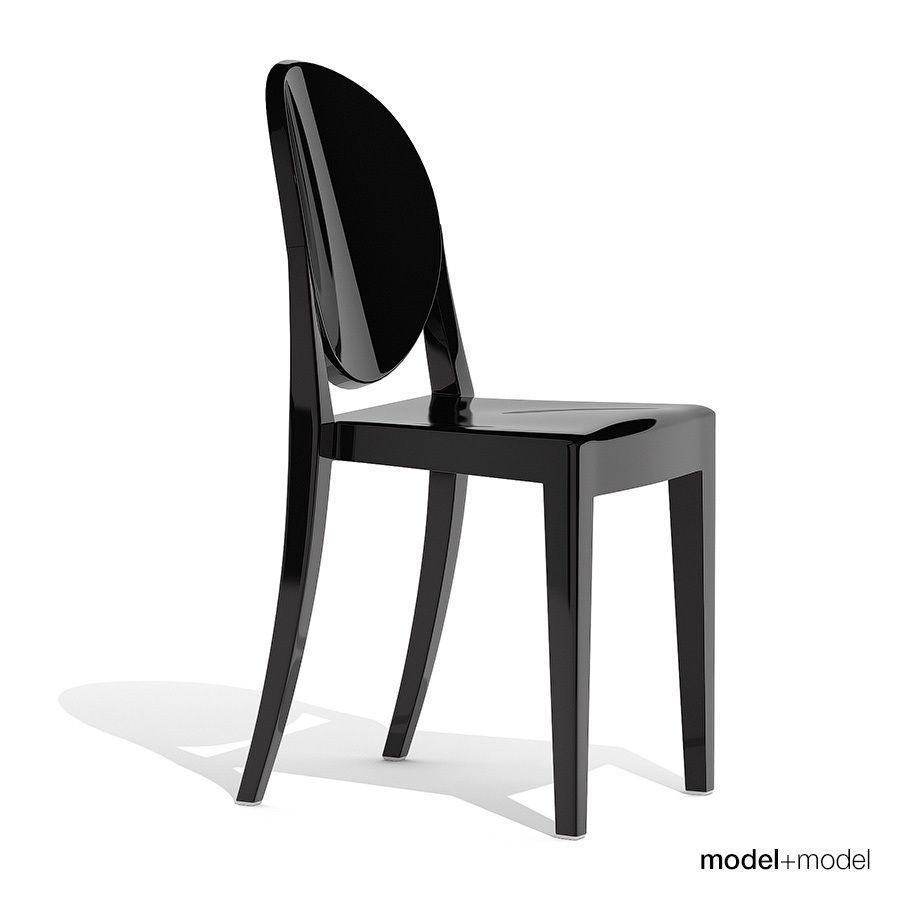 victoria ghost chair covered beach chairs 3d model kartell cgtrader max obj mtl 3ds fbx dxf mat 6