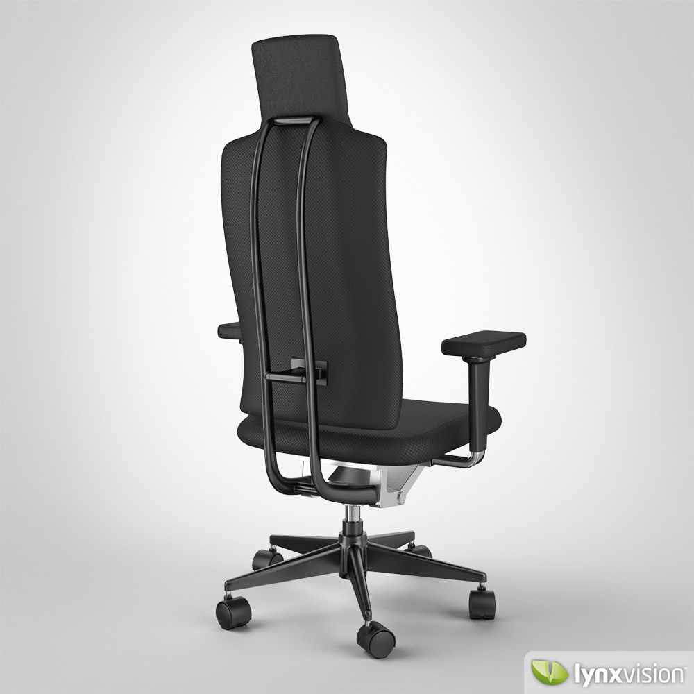 vitra ergonomic chair rent chairs and tables 3d headline by cgtrader model max obj mtl fbx 3
