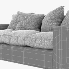 Jean Michel Frank Style Sofa Bed Rooms To Go Outlet Tight Back 3d Model Max Obj Fbx