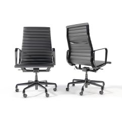 Eames Aluminum Chair Slipper Group Executive 3d Model Cgtrader