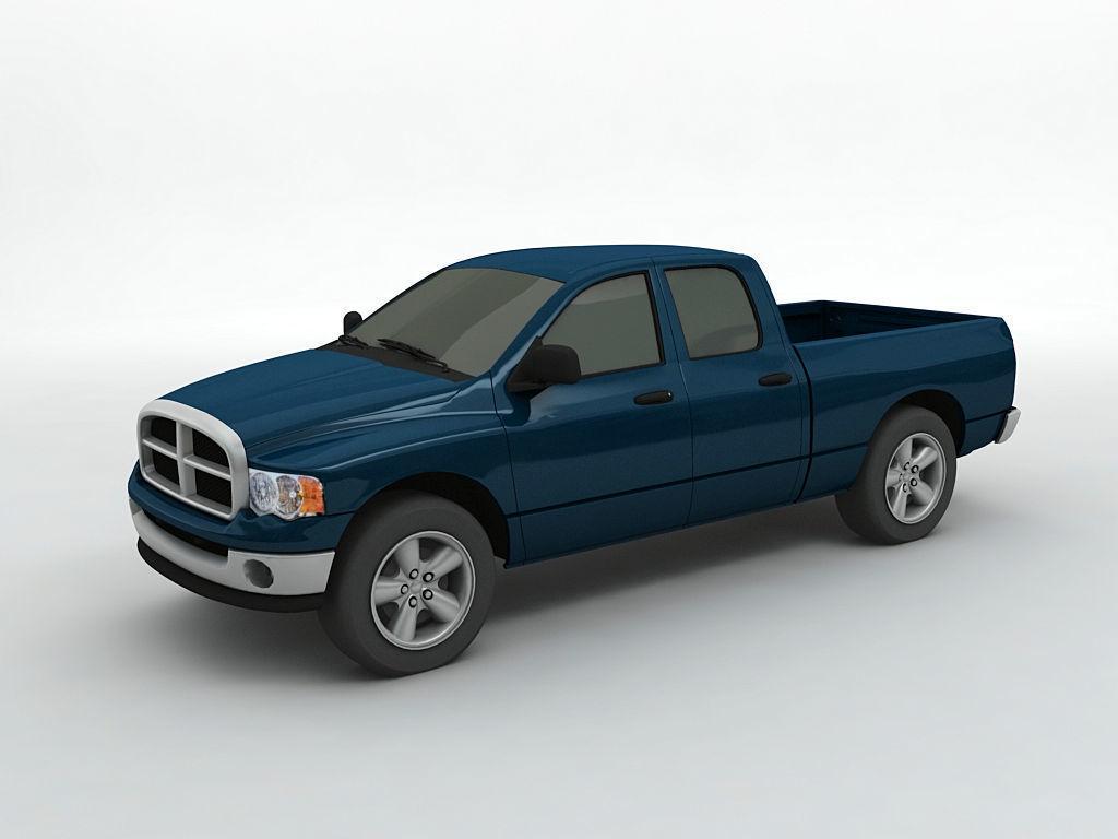 hight resolution of 2004 dodge ram 1500 pickup quad cab 3d model