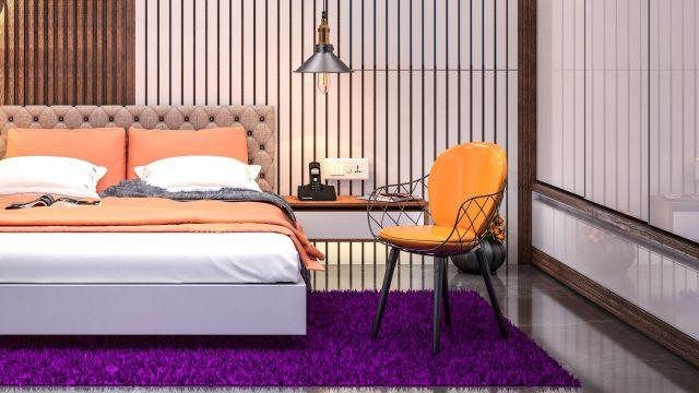 3D Sketchup interior bedroom | CGTrader