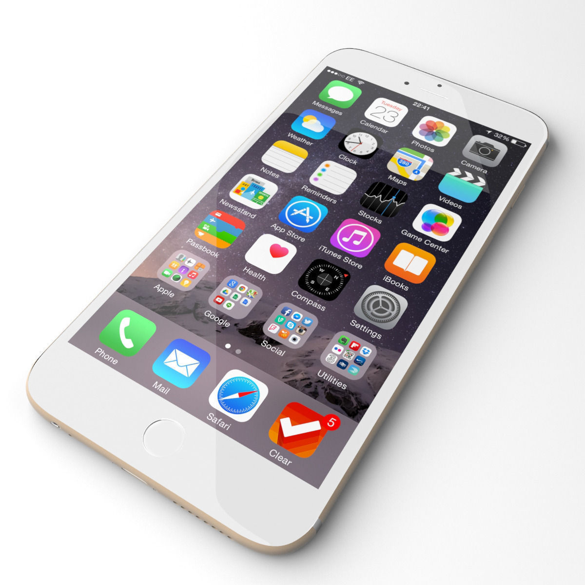 Apple iPhone 6 grey 3D Model MAX | CGTrader