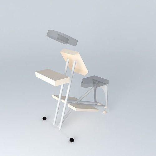 StrongLite Ergo Pro Massage Chair 3D  CGTrader