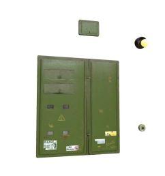 electric fuse box low poly 3d model [ 1920 x 1080 Pixel ]