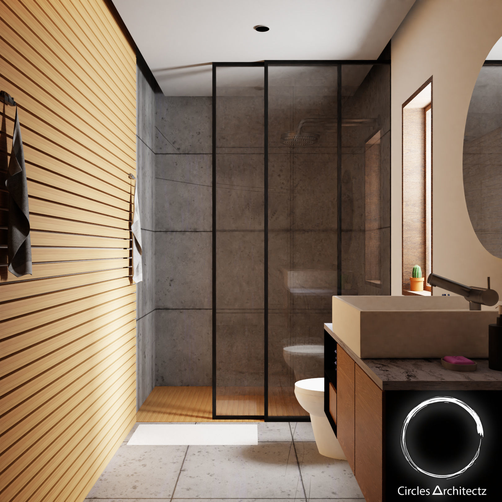 3d Model Minimal Bathroom Design Cgtrader